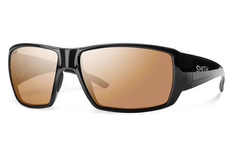 Smith - Guide's Choice Black Sunglasses, Techlite Polarchromic Copper Lenses