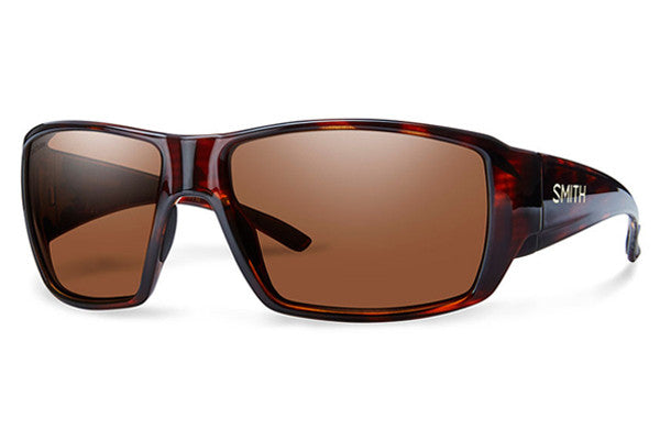 Smith - Guide's Choice Havana Sunglasses, Techlite Polarchromic Copper Lenses