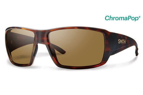 Smith - Guide's Choice Matte Havana Sunglasses, ChromaPop+ Polarized Brown Lenses