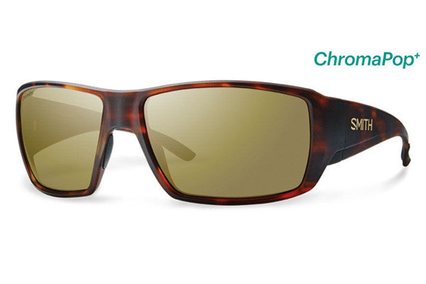 Smith - Guide's Choice Matte Havana Sunglasses, ChromaPop Polarized Bronze Mirror Lenses