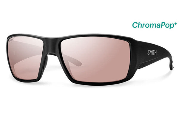 1ab79e0a24b Smith - Guide s Choice Matte Black Sunglasses