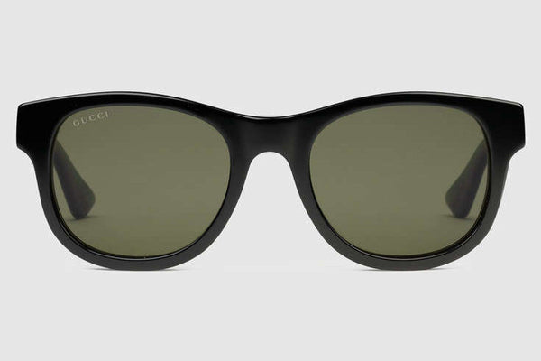3dd4d50b0e2 Gucci - GG0003S Shiny Black Sunglasses – New York Glass