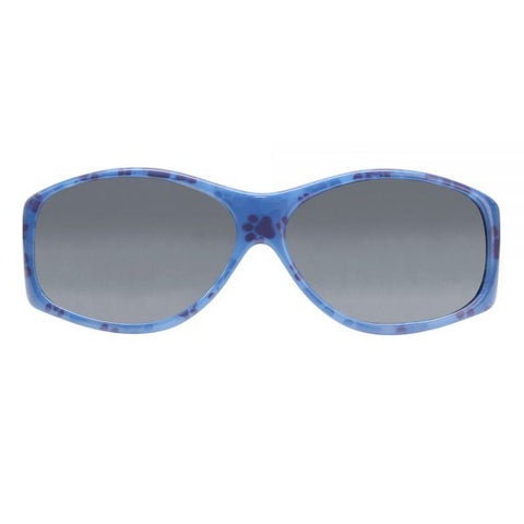 Jonathan Paul Fitovers - Glides Blue Paws Fitover Sunglasses / Polarvue Gray Lenses