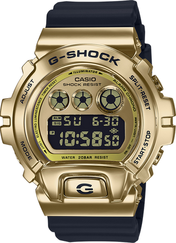 G-Shock - GM6900G-9 Gold Black Watch