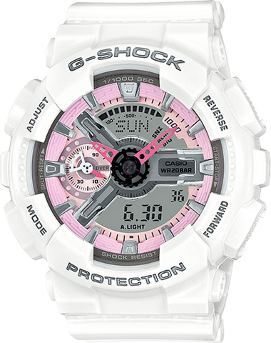 G-Shock - GMA-S110MP-7ACR White Watch