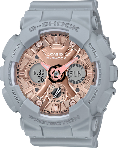 G-Shock - GMAS120MF-8A Grey Rose Gold Watch