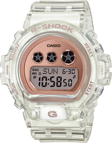 G-Shock - GMDS6900SR-7 Pink Gold Transparent Watch