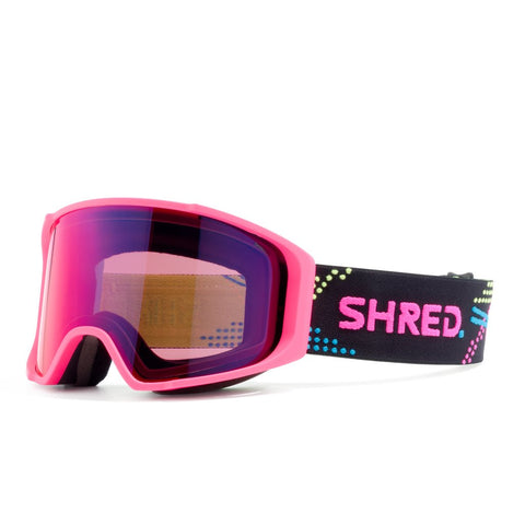 Shred Optics - Simplify  Laser Snow Goggles / Blast Mirror + Sky Mirror Lenses