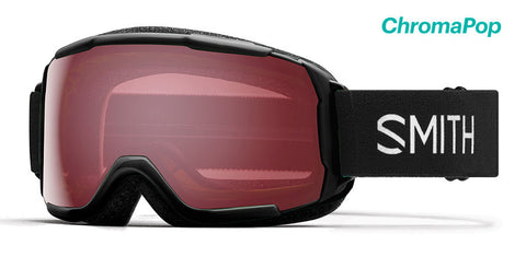Smith - Grom Black Snow Goggles / Chromapop Everyday Rose Lenses