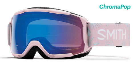 Smith - Grom Pink Paradise Snow Goggles / ChromaPop Storm Rose Flash Lenses