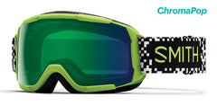 Smith - Grom Flash Game Over Snow Goggles / ChromaPop Everyday Green Mirror Lenses