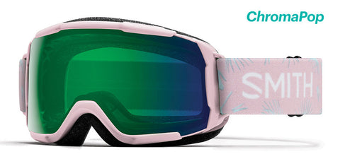 Smith - Grom Pink Paradise Snow Goggles / ChromaPop Everyday Green Mirror Lenses