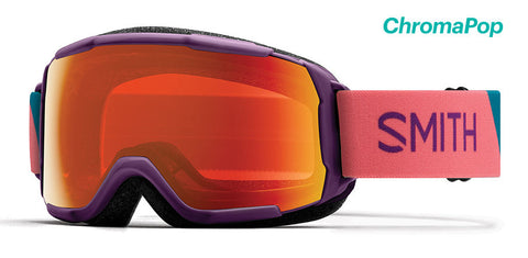 Smith - Grom Monarch Warp Snow Goggles / ChromaPop Everyday Violet Mirror Lenses