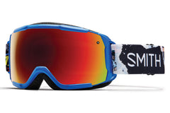 Smith - Grom Lapis Ripped Comic Goggles, Red Sol-X Mirror Lenses