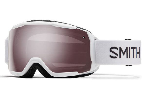 Smith - Grom White Goggles, Ignitor Mirror Lenses