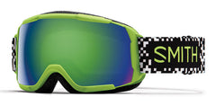 Smith - Grom Flash Game Over Snow Goggles / Green Mirror Lenses
