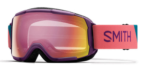 Smith - Grom Monarch Warp Snow Goggles / Red Sensor Mirror Lenses