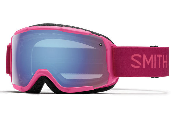 Smith - Grom Fuchsia Static Goggles, Blue Sensor Mirror Lenses