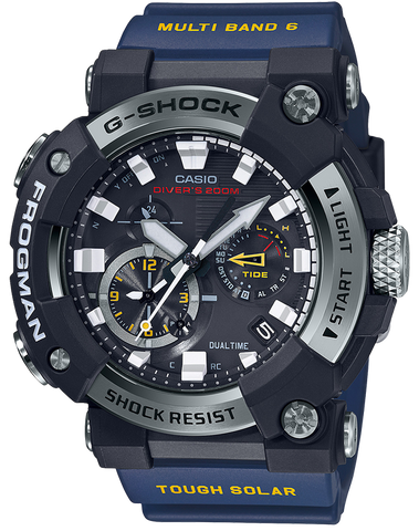 G-Shock - GWFA1000-1A2 Black Blue Watch