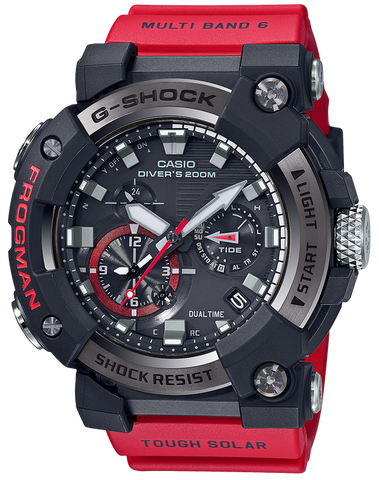 G-Shock - GWFA1000-1A4 Black Red Watch