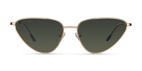 Original Penguin - The Will Sun 53mm Gold Sunglasses / Dim Gray Lenses
