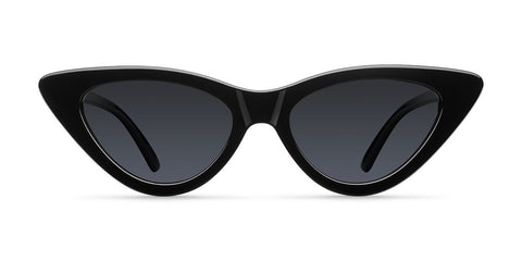 Meller - Waga 45mm All Black Sunglasses / Black Polarized Lenses