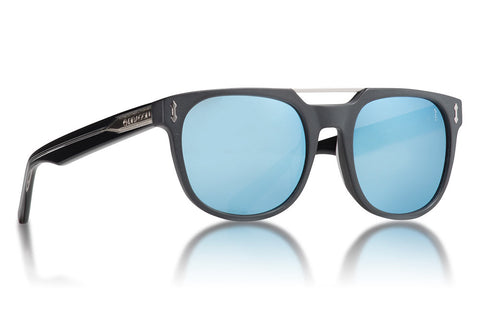 Dragon - Mix Matte Black Sunglasses / Blue Lenses