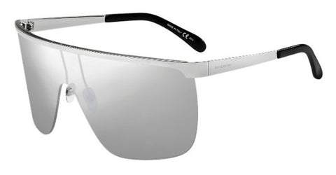 Givenchy - Gv 7127 S  Palladium Sunglasses / Silver Mirror Lenses