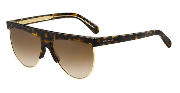 Givenchy - Gv 7118 G S Dark Havana Sunglasses / Brown Gradient Lenses