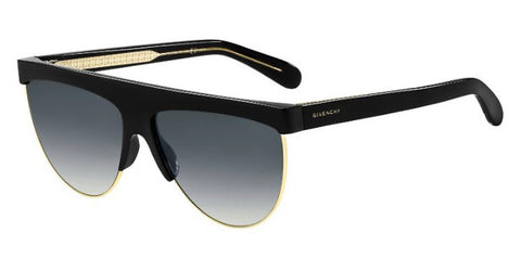 Givenchy - Gv 7118 G S Gold Sunglasses / Dark Gray Gradient Lenses