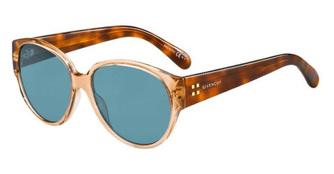 Givenchy - Gv 7124 S Brown Brown Havana Sunglasses / Brown Gradient Lenses