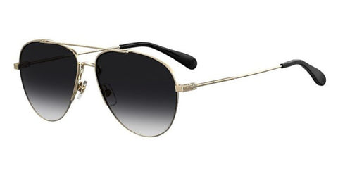 Givenchy - Gv 7133 G S Gold Sunglasses / Dark Gray Gradient Lenses