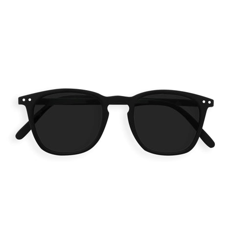 Izipizi - #E Black Sunglasses / Grey Lenses