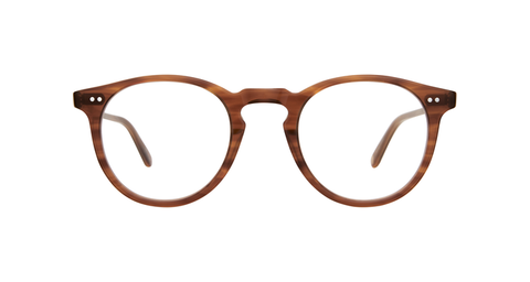 Garrett Leight - Glencoe 44mm Demi Blonde Eyeglasses / Demo Lenses