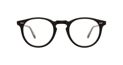 Garrett Leight - Glencoe 44mm Matte Black Eyeglasses / Demo Lenses