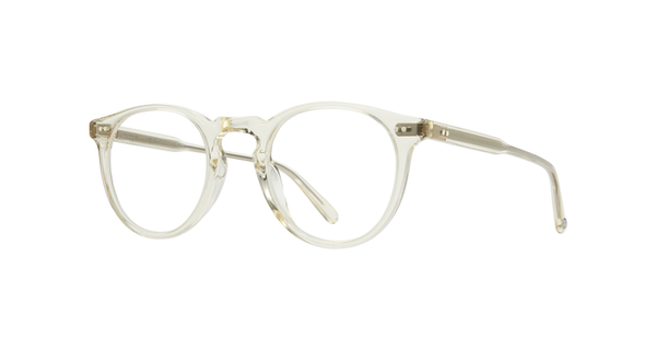 Garrett Leight - Glencoe 44mm Pure Glass Eyeglasses / Demo Lenses