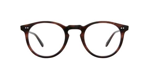 Garrett Leight - Glencoe 44mm Red Tortoise Eyeglasses / Demo Lenses