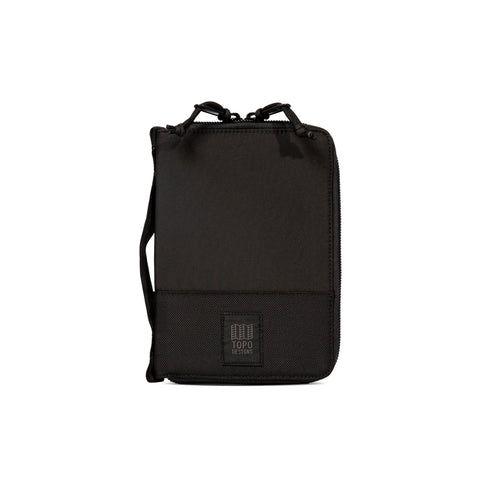 Topo Designs - Global Case Ballistic Black Unisex  Accessory Bag