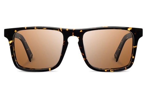 Shwood - Govy 2 Acetate Dark Speckle / Brown Sunglasses