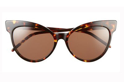 Wildfox Grand Dame Montage / Grey Gradient Sunglasses