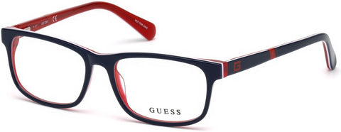 Guess - GU9179 Shiny Blue Eyeglasses / Demo Lenses