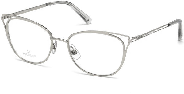 Swarovski - SK5260 Shiny Palladium Eyeglasses / Demo Lenses