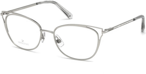 Swarovski - SK5286 Shiny Palladium Eyeglasses / Demo Lenses