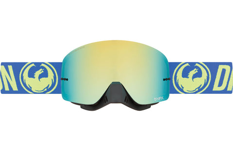 Dragon - NFX Break High Vis MX Goggles / Smoke Gold + Clear Lenses