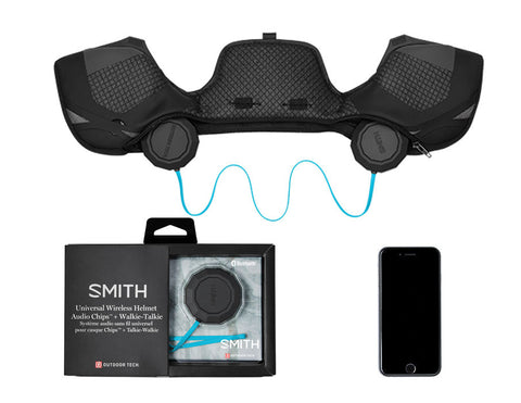 Smith - Outdoor Tech Wireless Audio Chips 2.0 Helmet Accessory