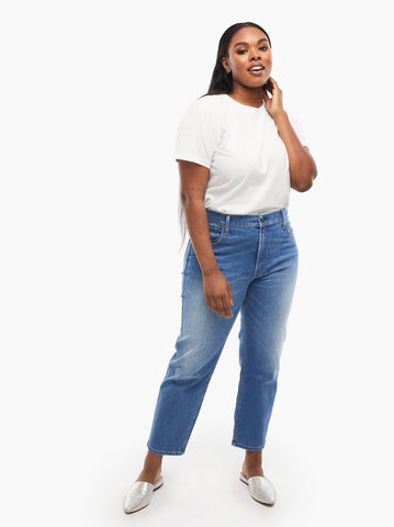 ABLE - The Atamy High Rise Straight Denim Jeans