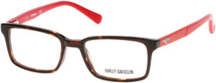 Harley-Davidson - HD0127T Dark Havana Eyeglasses / Demo Lenses