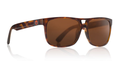 Dragon - Roadblock Matte Tortoise Sunglasses / Brown Lenses