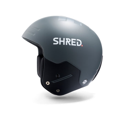 Shred Optics - Basher Ultimate S/M Grey Snow Helmet