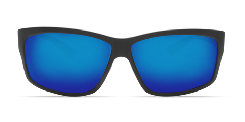 Costa - Cut Blackout Sunglasses / Blue Polarized Glass Lenses